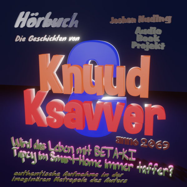 Knuud & Ksavver Audio Book Projekt Cover A